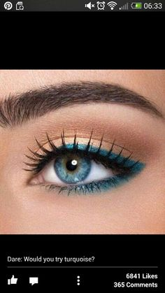 Turqouise eyes