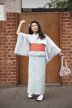 Emily Stein's latest series tells the story of Akemi and her 100 Kimonos Moving To England, Latest Series, Kimono, Bell Sleeve Top, Daughter, Celebrities, Tops, Women, Fashion