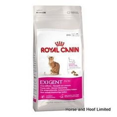 Royal Canin Exigent Savour Sensation Cat Food 4kg Royal Canin Exigent Savour Sensation is a complete feed that uses two different kibble shapes.
