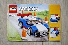 Lego 31027 INSTRUCTION BOOK For Creator Blue Racer #Lego Lego Creator, The Creator, Lego Instruction Books, Lego Instructions, Lego Building, Blue, Ebay
