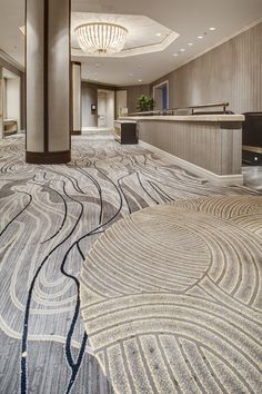 Innovative Carpets Fairmont Chicago Prefunction Organic Hotel Carpet Design with. Carpet Decor, Wall Carpet, Carpet Flooring, Rugs On Carpet, Carpet Ideas, Stair Carpet, Hallway Carpet Runners, Cheap Carpet Runners, Stair Runners