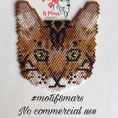 À toutes les amatrices de chats... voila de quoi vous faire plaisir.... voici un joli petit chat du Bengale ... j'espère qu'il vous plaira autant qu'à moi.... vous pouvez d'ores et déjà retrouver le diagramme sur etsy (lien dans ma bio ⬆️) #motif8mars #jenfiledesperlesetjassume #doityourself #diy #madebymyself #madebyme #faitmain #handmade #madeinfrance #fabriqueenfrance #handmadejewelry #jewel #jewels #jewelry #jewellery #collier #necklace #necklaces #chat #chats #cat #cats #bengalcat…