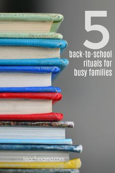 Back-to-school season is in full swing, so I thought I'd take a minute to share a few fun back-to-school rituals for busy families. If you're looking for some fun ideas to do with the kids these last few days of summer before the new school year starts, check out these fun back to school ideas for families! #teachmama #backtoschool #bts #familyactivities #backtoschoolideas #funideasforfamilies #summerfun #activiities
