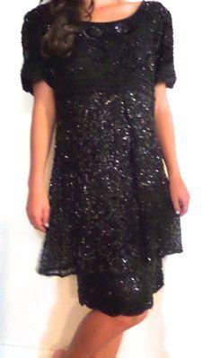 Vintage Beaded Dress