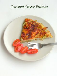 Low Carb Zucchini - Cheese Frittata