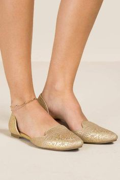a724cb6b6844 francesca s Tessa Gold Layered Anklet - Gold Trendy Jewelry