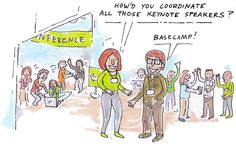 Basecamp can sponsor your event