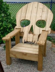 My idea of a cool cottage chair...