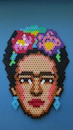 ReWerka The Effective Pictures We Offer You About Bead Embroidery Patterns free A quality picture ca Perler Bead Designs, Hama Beads Design, Diy Perler Beads, Pearler Beads, Bead Embroidery Patterns, Hama Beads Patterns, Beading Patterns, Beaded Embroidery, Pixel Art