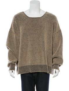 Kanye West x Adidas Yeezy Season 1 Bouclé Sweater Yeezy Fashion, Men's Fashion, Kanye West Adidas Yeezy, Yeezy Season 1, Tom Ford Suit, Leather High Tops, Men Sweater, Men's Clothing, Sweaters