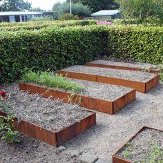 Stor rektangulär odlingsbänk med tillval