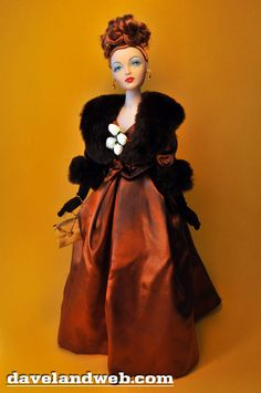 My first Gene Marshall fashion doll - Champagne Supper.  Gorgeous clothes and hair.  Not a big fan of the faces on the newer dolls :(