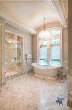 Design Trends That Are Dead In 2015. Bathroom FlooringNeutral Bathroom TileMarble  Bathroom FloorTub ...