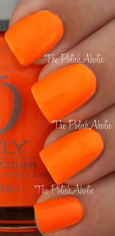 Orly Summer 2012 Feel the Vibe Collection-Melt Your Popsicle