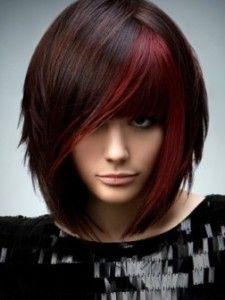Креативное окрашивание темных волос