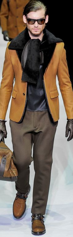 Emporio Armani Menswear Fall-Winter …