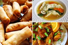 Chinese New Year Foods by the Pioneer Woman? Then I know they'll be yummy...probably not very authentic, but YUMMY!