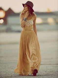 Free People | Full of Grace Dress #freepeople #maxi #dress #boho