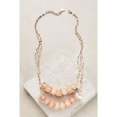 I just added this to my closet on Poshmark: Anthropologie Rose Rain Necklace. Price: $30 Size: OS