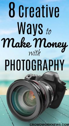 8 Creative Ways to Make Money from Photography Are you a shutterbug like me? Then you need to read this post to find out ways to earn money with photography. Dig into these 8 creative ways to make money with your photography skills.