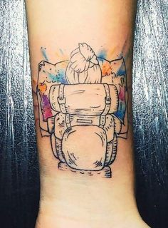 Travel Tattoos - 30 Travel Tattoo Ideas That Will Make Your Bags Look So . - Travel Tattoos – 30 Travel Tattoo Ideas That Will Make You Pack Your Bags As Soon As Possible – - Love Tattoos, Unique Tattoos, Body Art Tattoos, Tattoos For Women, Tatoos, Tattoo Henna, Get A Tattoo, Tattoo Arm, Tattoo Explore