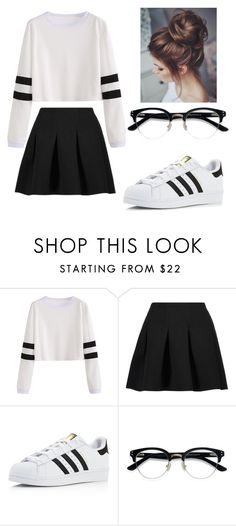 """Untitled #64"" by kyrsten-maningo on Polyvore featuring T By Alexander Wang, adidas and Ace"