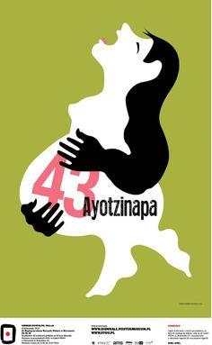 German Montalvo, Mexico - 43 Ayotzinapa, 2015 #50designers50posters50mbp #STGU #AMS #ASP