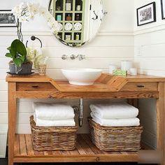 Creative Bathroom Pallet Vanity Bathroom Bathroom Ideas Pallet Wood Pallet