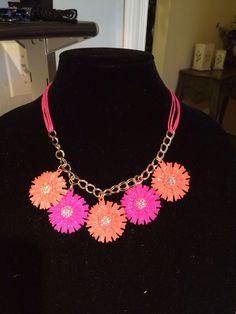 Indian Paintbrush necklace!