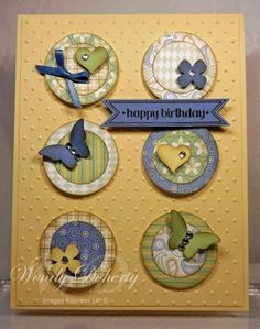 Layered Circles by Wdoherty - Cards and Paper Crafts at Splitcoaststampers