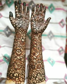 94 Easy Mehndi Designs For Your Gorgeous Henna Look Wedding Henna Designs, Latest Bridal Mehndi Designs, Floral Henna Designs, Indian Mehndi Designs, Henna Art Designs, Mehndi Designs 2018, Mehndi Designs For Girls, Stylish Mehndi Designs, Tattoo Designs