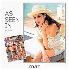 as seen in #magazines • Και αυτή την εβδομάδα τα πιό γνωστά περιοδικά προτείνουν αγαπημένα #matfashion ρούχα @youweekly.gr #fashion #realsize #collection #youweekly