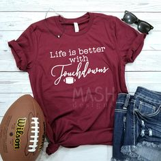 tailgate shirt football tailgate tailgating shirt saturdays are for tailgating shirt game day shirt football season tailgate game day Football Fan Shirts, Football Tailgate, Football Season, Sports Shirts, Tailgating, Football Gift, Football Crafts, Football Parties, Unisex