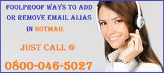In case if you want to utilize a new email address with your current Hotmail account, follow the steps through Hotmail Support Number service to make an alias. This will give you an extra email address which utilizes the same inbox, contact rundown, and account settings as your essential or primary email address.