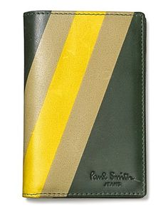 Paul Smith Painted Stripe Vertical Bi-fold Wallet | Bloomingdale's