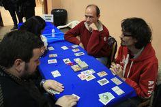 """Acuchillando por la espalda en """"15 Días"""" (prototipo), jornadas """"FrikiGordo"""", Alcalá de Henares (Madrid) / Stabbing in the back with """"15 Días"""" (prototype), """"FrikiGordo"""" Event, Alcalá de Henares (Madrid)."""
