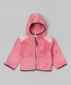 Another great find on #zulily! Berry Fleece Hooded Jacket - Infant, Toddler & Girls #zulilyfinds