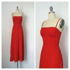 70s Orange LORRIE DEB Maxi Dress / 1970s Vintage Fall Autumn Boho Dress / Small / Size 4 by CheshireVintageShop on Etsy https://www.etsy.com/listing/209386571/70s-orange-lorrie-deb-maxi-dress-1970s