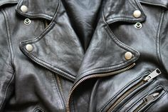 Leather Jacket with big Zippers ♥.♥
