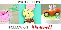 My Cake School on Pinterest