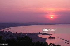 10-25 Sunset over the bay of Rimini, Italy #cattolica... #cattolica: 10-25 Sunset over the bay of Rimini, Italy #cattolica… #cattolica
