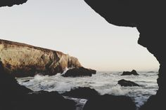 Photograph by Kevin Russ, Beach Cave View. Taken at Shell Beach in California. Life Is Beautiful, Beautiful Places, San Luis Obispo County, Shell Beach, Summer Beach, Seaside, Places To Visit, Ocean, Stock Photos