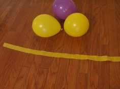 Carbon dioxide - oxygen cycle (learning game) balloon toss. Great visual for students to see the cycle in motion