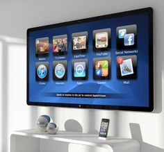 The Future of Apple Design: 2012 Applevision | Mac|Life...knows when you walk inti the room and displays your home screen