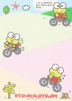 Sanrio Keroppi Memo (2012) | crazysugarbunny | Flickr Sanrio Characters, Cute Characters, Keroppi Wallpaper, V Cute, Grunge Room, Favorite Cartoon Character, Frog Princess, Kawaii Art, Preschool Crafts