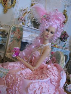 Prego: Theme - Favorite Era .....Rococo for the dolls AND ........>>>