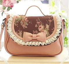 cordially to deliver the love of girl original brand Pink Candy cute bags and accessories shop - (B) Precious bag / chiffon rose weeks delivery time handbags# ,cheap mk bags, # michael kors fashion# Mk Handbags, Cute Handbags, Handbags Michael Kors, Purses And Handbags, Kawaii Bags, Kawaii Shop, Kawaii Accessories, Fashion Accessories, Accessories Shop