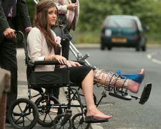 Broken Leg, Lady, Baby Strollers, Braces, Children, Baby Prams, Boys, Suspenders, Kids