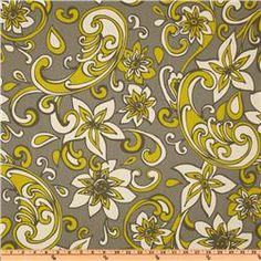 Premier Prints Loni Summerland/Natural  Item Number: EU-110  Our Price: $7.48 per Yard