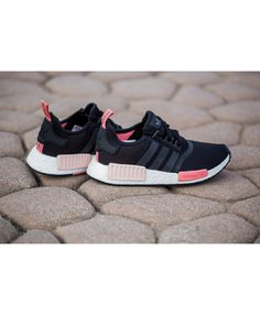 5fc41c6ab816 Shoe Adidas NMD Runner Womens Black Peach Pink Sell at a Discount